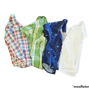 Boys Shirts Izod Cherokee Old Navy Oshkosh Button